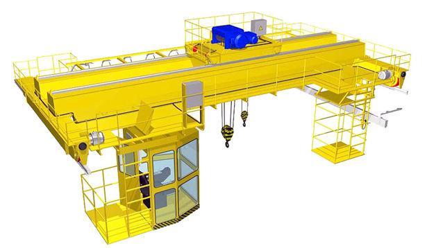 Производство и продажа мостовых кранов - «Пышминский завод подъёмно-транспортного оборудования»